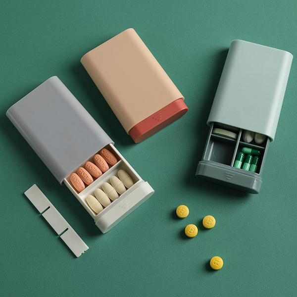 Box, Mini, pillbox, portable