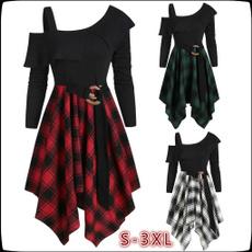 Mini, Goth, Fashion, asymmetric