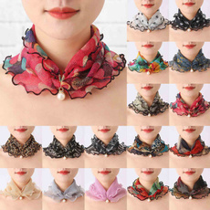 lace scarf, fauxfurscarf, Fashion, Lace