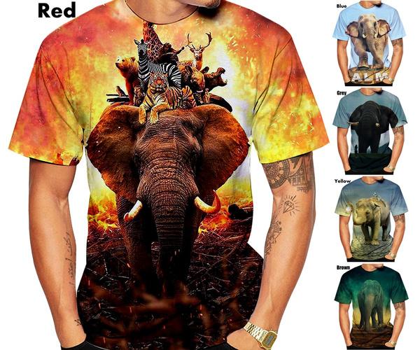 Summer, mens tops, 3dprintingtshirt, Mens T Shirt