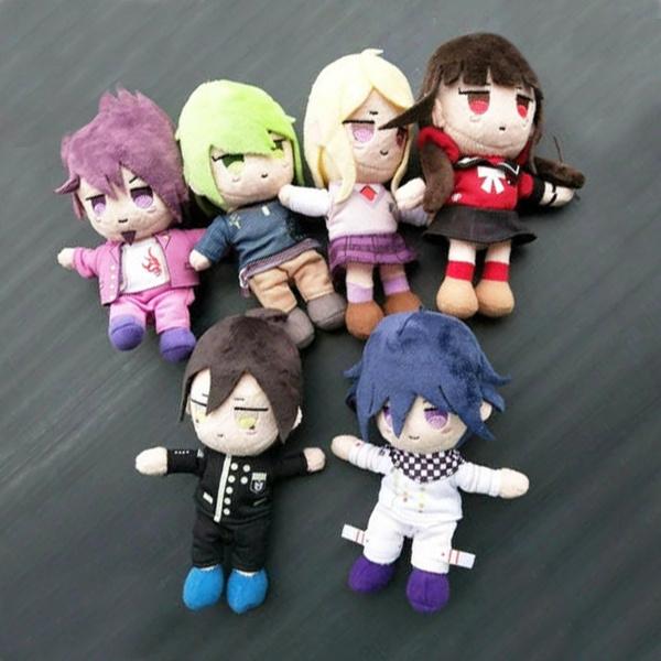 danganronpa, Plush Doll, Toy, Key Chain