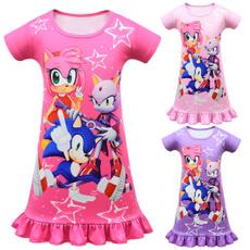 sonic, princess dress, sleeve dress, Sleeve