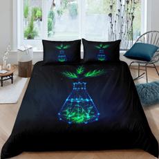 ultrasoftcomfortercoverset, greenleafprintedbeddingset, bedclothe, Cover