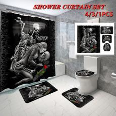 Home & Kitchen, Bathroom, Bathroom Accessories, skull