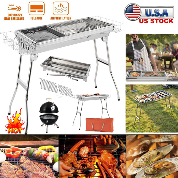 Steel, Grill, Kitchen & Dining, Charcoal