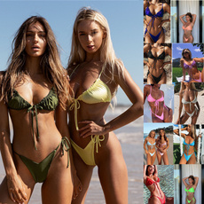 Bikinis Set, folding, Bikini swimwear, sexy bikini