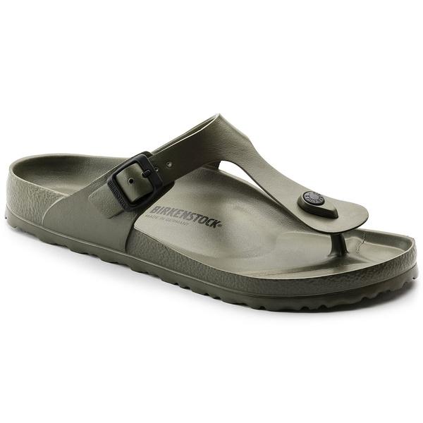 Ladies, Sandals, birkenstockshoe, khaki