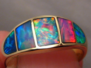 fireopalring, pink, Silver Jewelry, Fashion