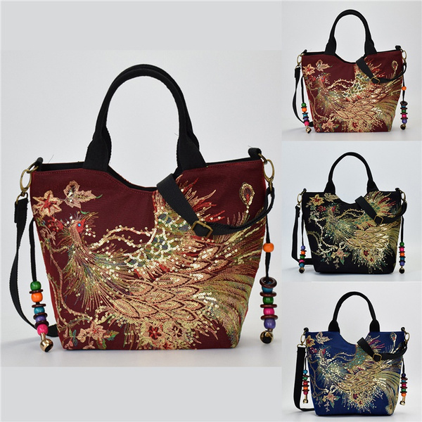 women bags, peacock, Ethnic Style, national