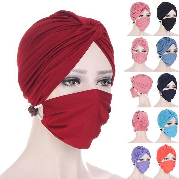 headbandandmask, maskturban, facemaskholder, Elastic