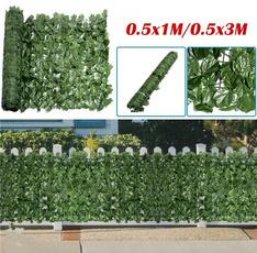 artificialleafhedge, artificialplant, Garden, fence