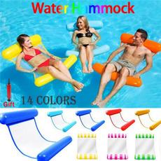 Summer, loungebed, waterhammock, floatingbed