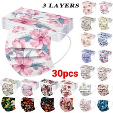 Flowers, facemaskcover, Spring, Masque