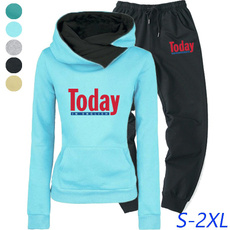 Fashion, pullover hoodie, pants, Tops