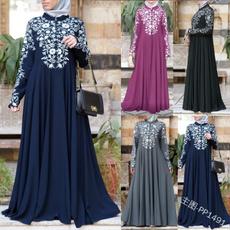 Chic, Swing dress, Plus Size, islamic
