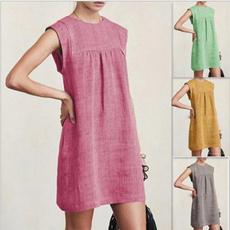 Summer, fashion women, short sleeve dress, short dress