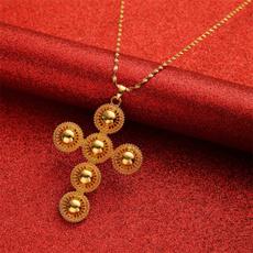 Necklace, eritreancros, Jewelry, Cross Pendant