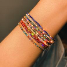 Charm Bracelet, Bracelet, bohobracelet, DIAMOND