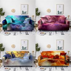 Decor, Spandex, couchcover, Colorful