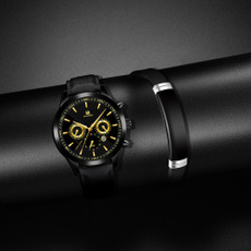Chronograph, leatherbeltwatch, Fashion Accessory, Fashion