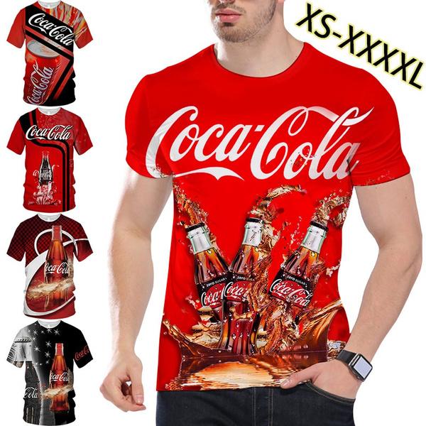 Hip-hop Style, Fashion, cocacolatshirt, Graphic T-Shirt