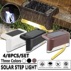 solarwalllamp, solarsteplight, gardensolarlight, stairlight