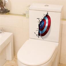 toilet, art, avenger, Home & Kitchen