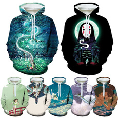 hayaomiyazaki, anime hoodie, Fashion, Hoodies