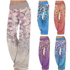 fashion women, Loose, Yoga, Casual pants