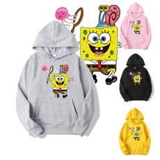 Couple Hoodies, Fashion, Sponge Bob, unisex