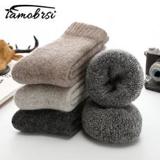 Funny, Winter, Socks, Men