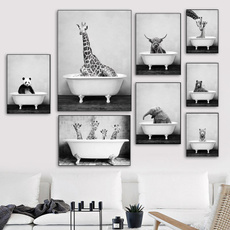 Pictures, Elephant, cow, Posters