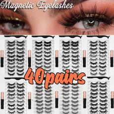 Fashion, Beauty, Waterproof, magneticnaturaleyelashe