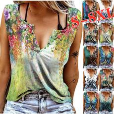 Summer, Plus Size, summer t-shirts, tank top