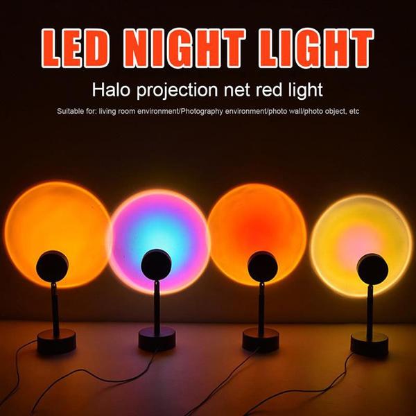 rainbow, Decor, Night Light, projector