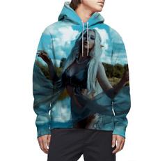 Beautiful, 3D hoodies, Fashion, pullover hoodie