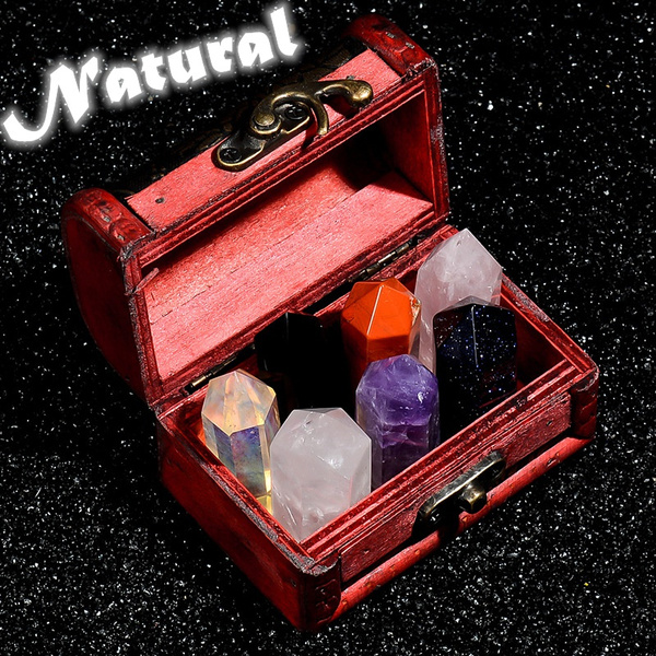 Box, naturalhexagonalprismcrystal, crystalcollector, crystalspecimen