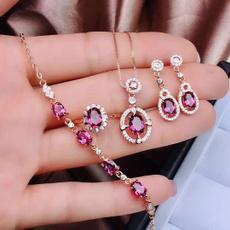 womensjewelryset, Jewelry, redjewelryset, garnet