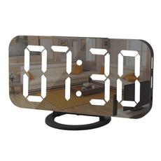 dim, mirroralarmclock, alarmclocksforbedroom, smalldigitalclock