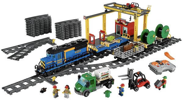building, Train, Toy