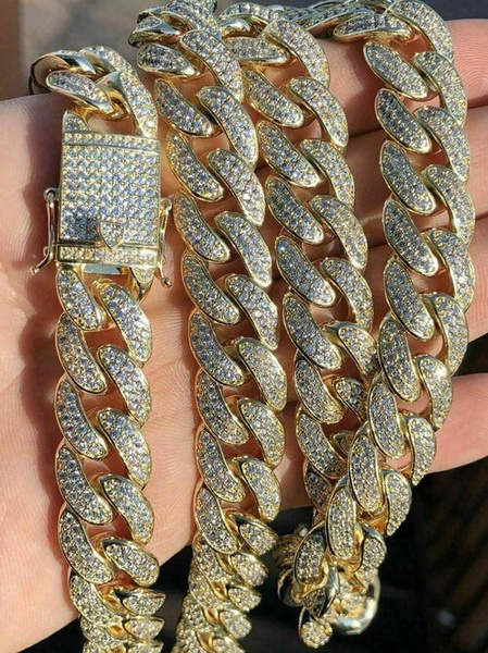 Real, Steel, cuban, DIAMOND
