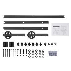 slidingbarndoorhardwareroller, Closet, trackrailkit, slidingrollerforcabinet