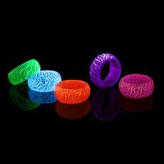 Couple Rings, luminousresinring, Jewelry, Gifts
