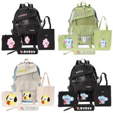 K-Pop, Shoulder Bags, School, Fashion