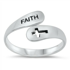 Sterling, faith, 925 sterling silver, Jewelry