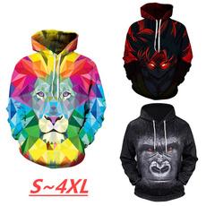 3D hoodies, colorlion, Fashion, elementalhoodie