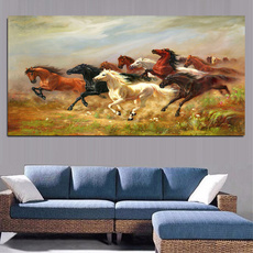 horse, Wall Art, Gifts, canvaspainting