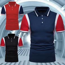fashionablemensclothing, Stand Collar, Fashion, Polo Shirts