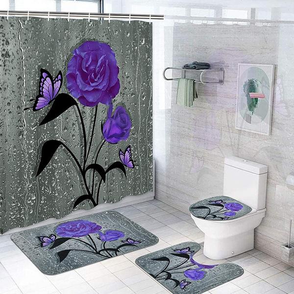 butterfly, Home Decor, Waterproof, nonsliprug
