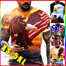 Summer, Fashion, Shirt, Eagles